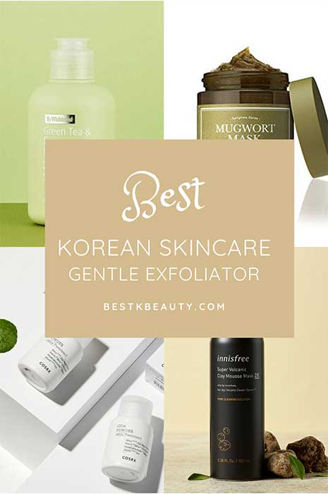 korean gentle exfoliator