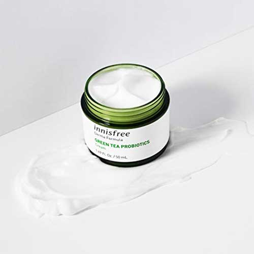 korean moisturizer -innisfree green tea