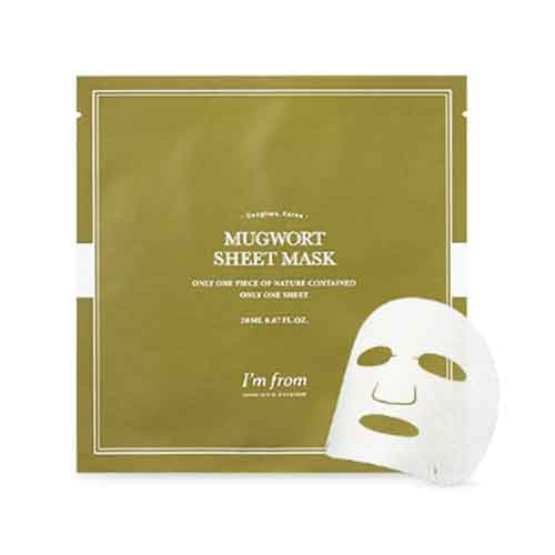 best korean face mask for acne-I'm from mugwort