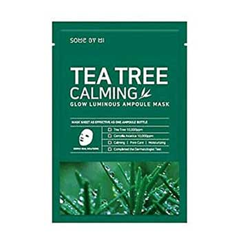 some-by-mi-tea-tree-calming-mask for acne-prone skin