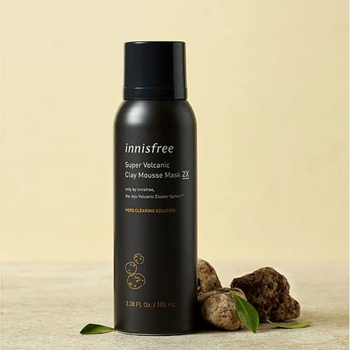 INNISFREE PORE CLEARING MOUSSE CLAY MASK