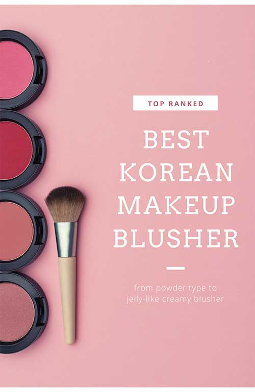 best-selling Korean makeup blusher