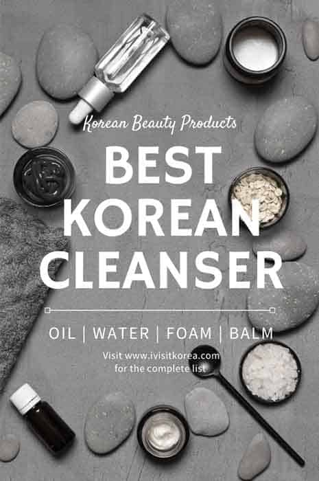 best korean cleansers