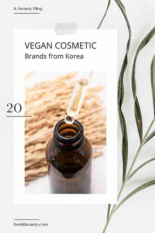 vegan korean cosmetic brands