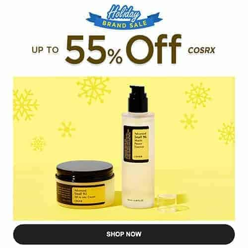 cosrx holiday sale