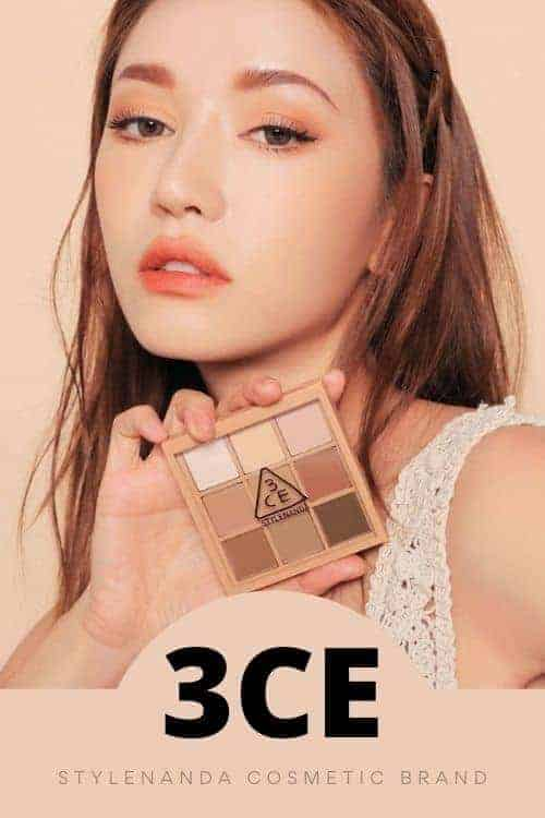 3CE-Korean cosmetic brand