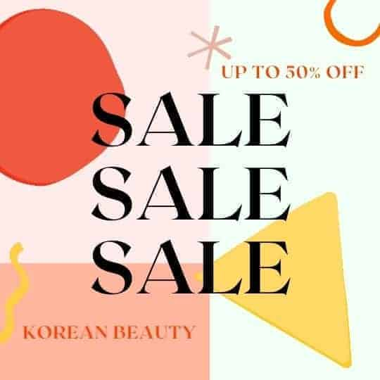 K-beauty coupon