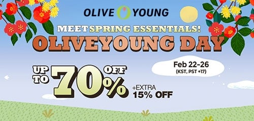 olive young sale
