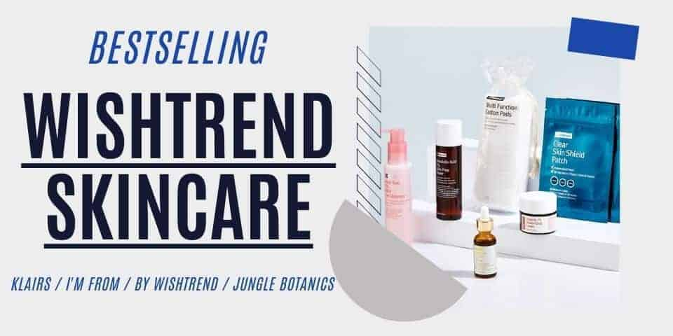 Wishtrend review - K beauty