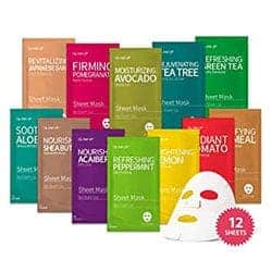 Korean Sheet Mask - 12 combo by glam up